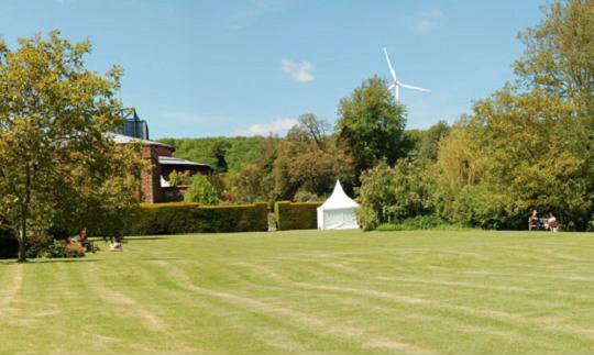 Glyndebourne turbine form lawns